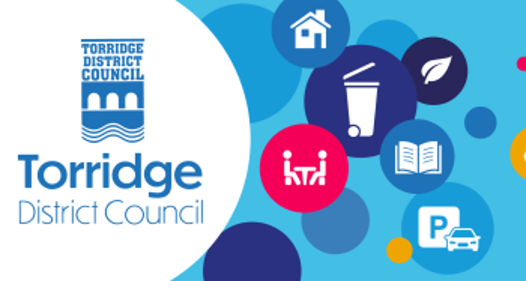 New Torridge District Council website and newsletter launch graphic